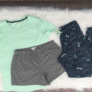 SONOMA 3-piece pajama set
